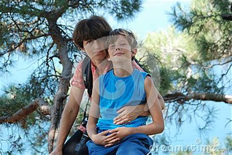azov naturist mom and son stock images image 32619274