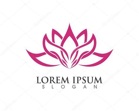 fiori di loto stilizzati vettore dell icona fiore di loto stilizzato