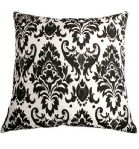 Black And White Pillows by Black And White Pillows Ramshackle Glam