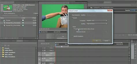 premiere pro workflow how to use the script to screen workflow in premiere pro