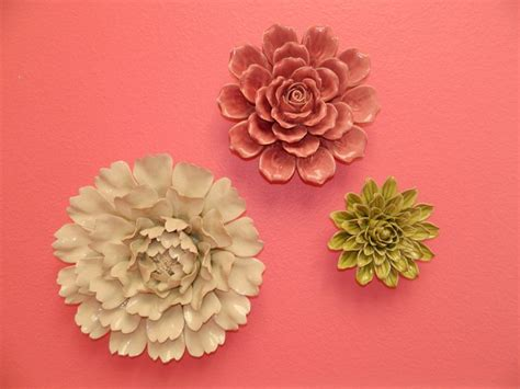 Ceramic Wall Flower Decor by 1000 Images About Ceramic Wall Decor On