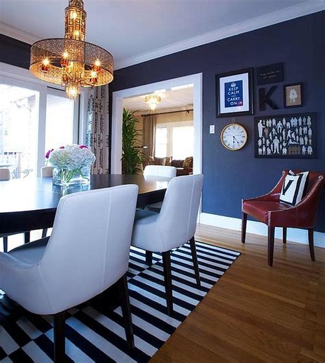 navy decor dining out in your new navy blue dining room