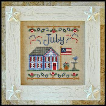 country cottage cross stitch country cottage needleworks cottage of the month july