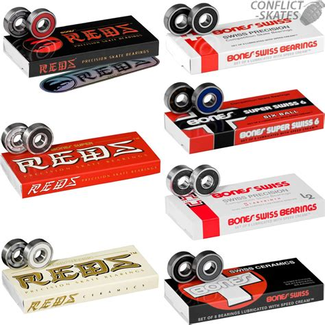 types of reds bones skateboard bearings 608 reds super reds swiss
