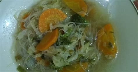 resep mie sop medan enak  sederhana cookpad