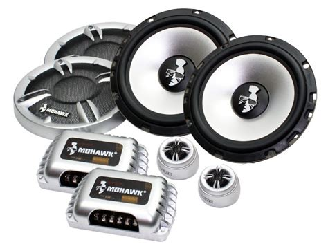 Speaker Subwoofer Mohawk mohawk ms 6 2 6 5 silver 2 way component speakers