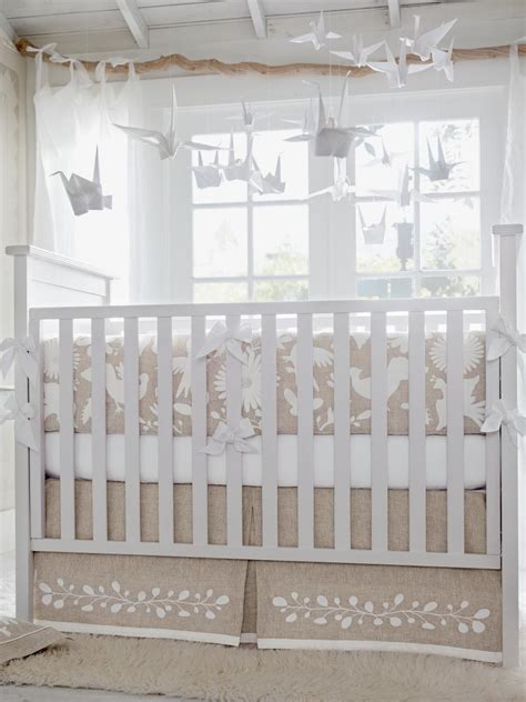 beige crib bedding 15 cool cribs for every style hgtv