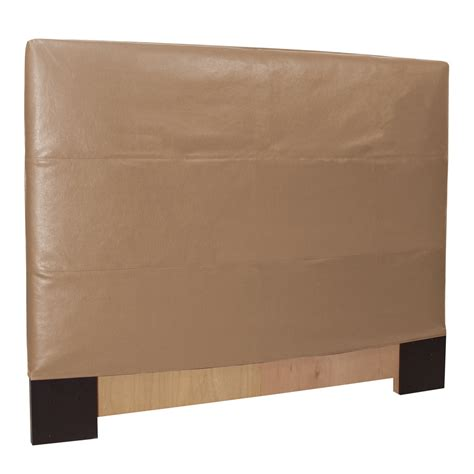 headboard slipcover avanti bronze king headboard slipcover howard elliott