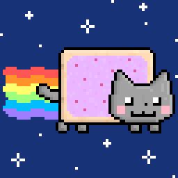 moving wallpaper nyan cat animated nyan cat by danieljonsson on deviantart