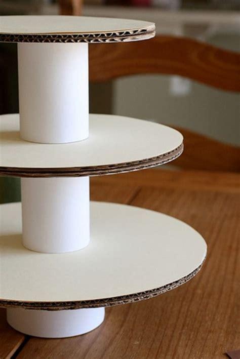 Handmade Cupcake Stands - c 243 mo hacer un stand para cupcakes diy craft