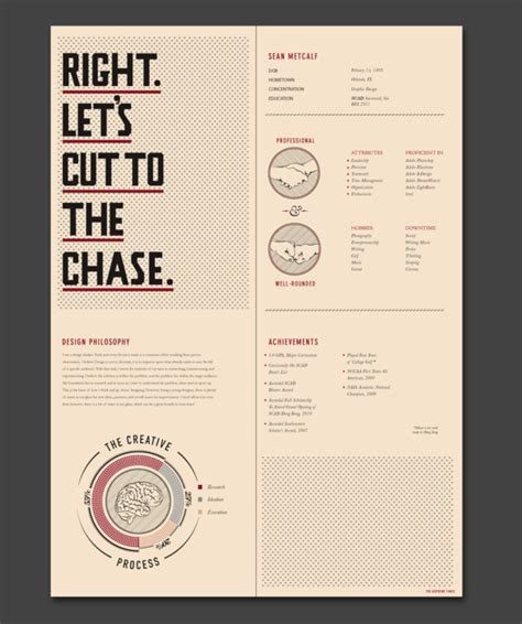 Job Resume Graphic Design by 27 More Outstanding Resume Designs Part Ii Dzineblog Com