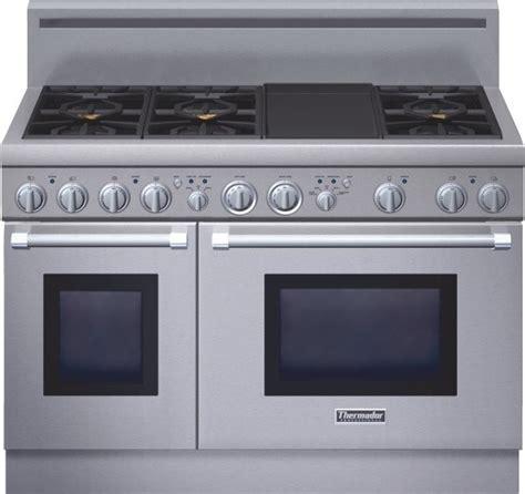 Cooktop Range Thermador Professional Series 48 Inch Gas Standard Depth