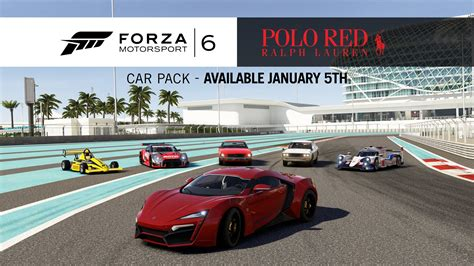 Horizon 2 Schnellstes Auto by Forza Motorsport 6 Ralph Lauren Polo Red カー パック Youtube