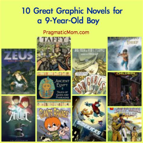 9 best book series for teenage boys 10 great graphic novels for 3rd grade pragmaticmom