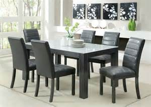 grey leather chairs dining room dining chairs design