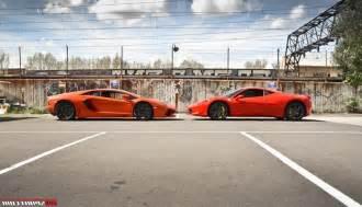 458 Vs Aventador How Much Is A 458 Vs Lamborghini Aventador