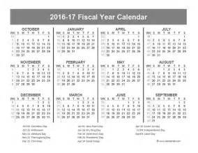 financial year calendar template 2016 fiscal year calendar usa 10 free printable templates