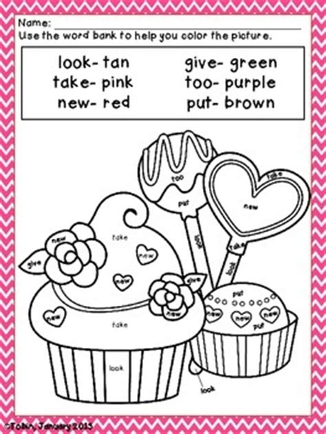 Valentine's Day Coloring Sheets  Valentine's Activities