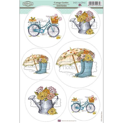 hobby house the hobby house daisy mae draws card toppers cottage garden the hobby house from