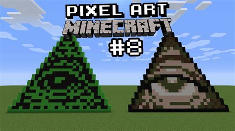 triangolo degli illuminati pixel minecraft 8 illuminati flogar o o