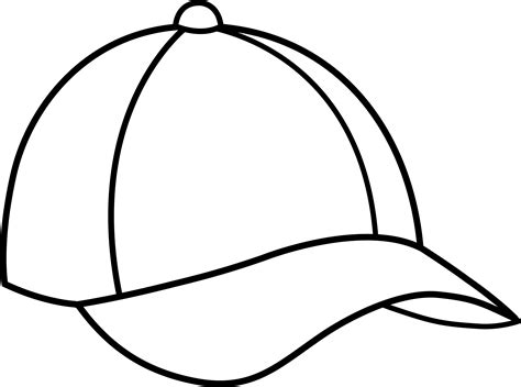 template of cap clipart best