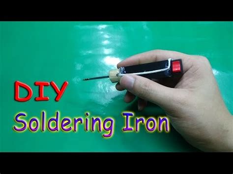 how to make a l cordless homemade soldering tool agaclip make your video clips