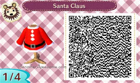 animal crossing  leaf santa claus outfit jennifer awesome