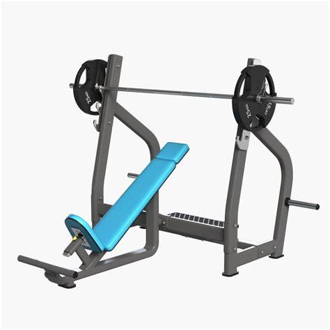 gym bench press equipment 3d gym equipment bench press model