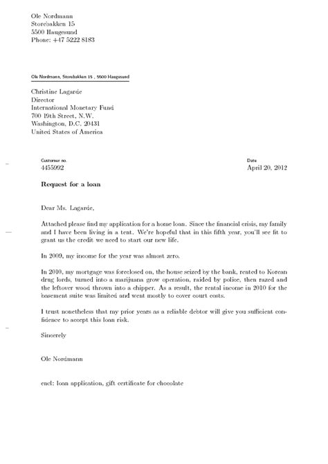 Loan Closure Letter Format letter of application letter of application closing