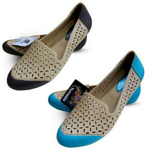 Sepatu Wanita Pantofel Elegan Murah jual sepatu pantofel karet wanita flatshoes yumeida murah berkualitas aqr shop