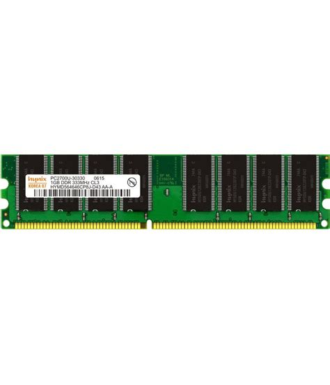 1 gb ddr1 ram hynix desktop ddr1 1gb 333 mhz ram buy hynix desktop