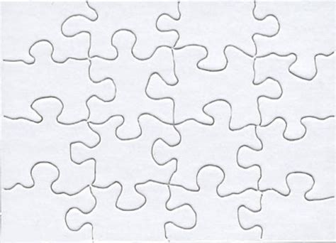 blank jigsaw puzzle template free download blank jigsaw puzzle template free download