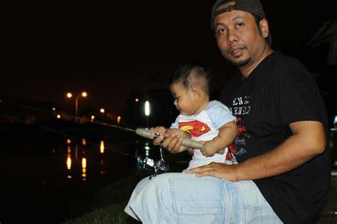 Pancing Tarik rodlentuk my memancing bersama baby rayyan di