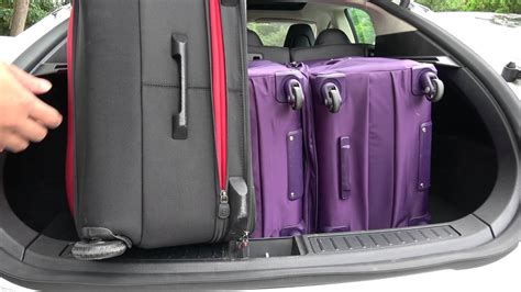 luggage trunks tesla model s trunk luggage capacity