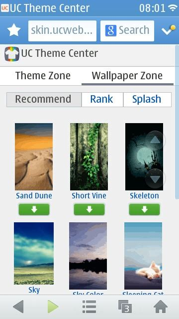 themes for uc browser java uc browser 8 8 is available you just have to know how to