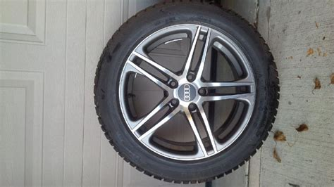 snow tires for audi a4 for sale audi a4 alloy snow tire package audi forum