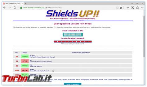 testare porte come testare se una porta router firewall 232 aperta