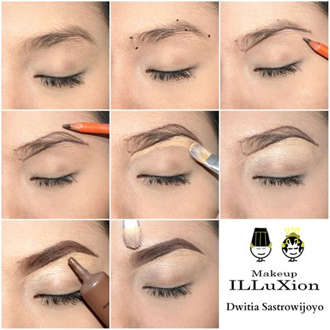 cara membuat alis video illuxion tutorial alis menyudut by dwitia sastrowijoyo