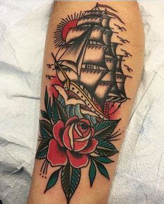 ali walters tattoo american traditional dagger through the heart tattoo by