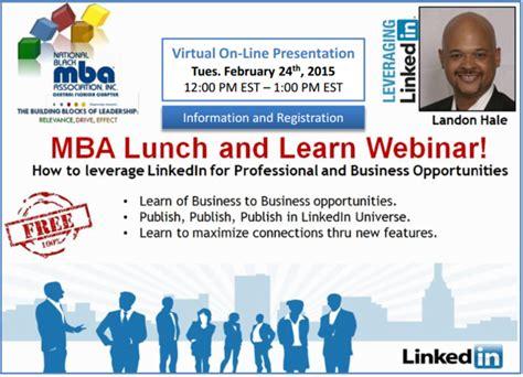Who To Follow On Linkedin Mba by Linkedin Lunch Learn Webinar