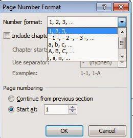 membuat no halaman yang berbeda di word 2007 cara membuat no halaman berbeda di microsoft word