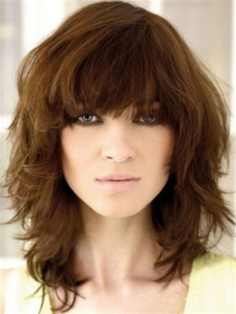 Quick Hairstyles With Bangs | medium hair cuts with bangs medium hairstyles with bangs