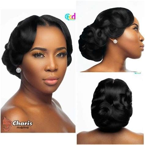 Wedding Hair For American Brides by American Wedding Hair Style Zambian Brides