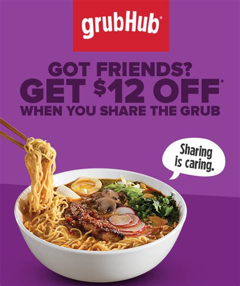 Grubhub Gift Card Free - grubhub coupon 12 off almost free food delivery