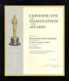 nomination certificate template academy award oscar template party invitations ideas nomination certificate template people to people