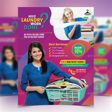 laundry flyers templates 19 laundry flyer templates free premium