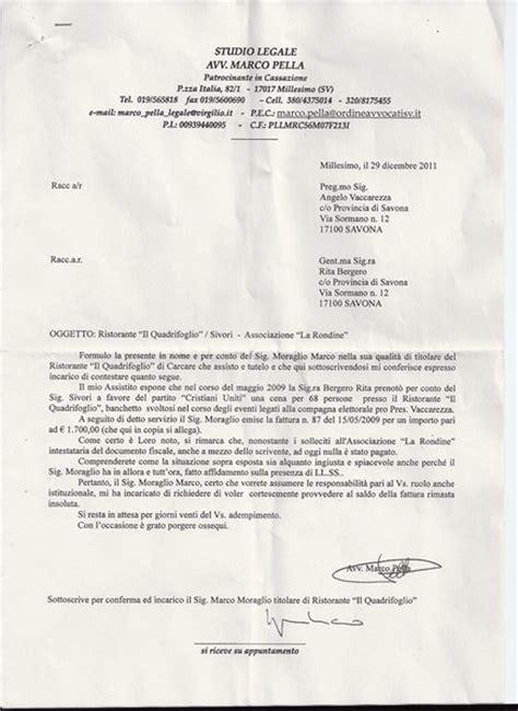 lettere raccomandate lettera raccomandata per sant angelo e santa