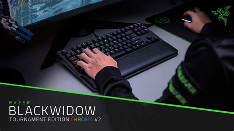 Razer Blackwidow Tournament Edition Chroma V2 Gaming Keyboard the razer blackwidow tournament edition is a keyboard designed with esports in mind gambit