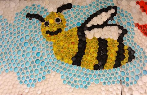 bottle cap crafts for craft for recycle bottle cap creative and