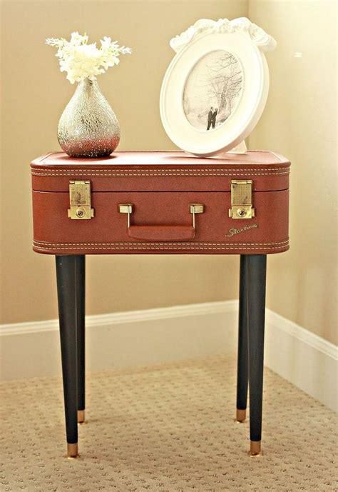 diy vintage chalk paint diy vintage suitcase table hometalk